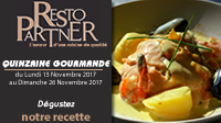 Quinzaine Gourmande de RestoPARTNER !