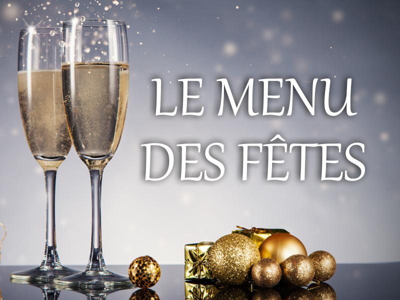 DÉCOUVREZ et RÉSERVEZ vos repas de fêtes chez Vin & Marée !