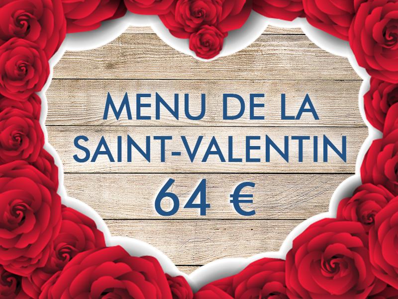 Découvrez le Menu de la Saint-Valentin !