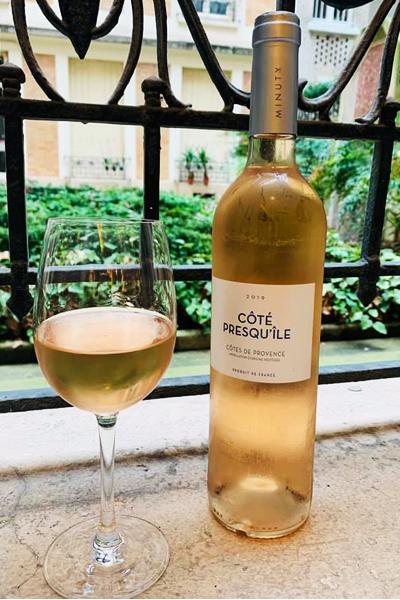 Côtes de Provence aoc Côté Presqu'île, Minuty